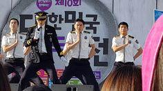 170603 브랜드대전 행사 경기남부경찰홍보단 공연 2부 XIA 김준수 Dangerous ~ 엔딩