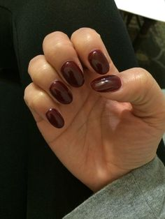 Love My Round Nails They Re Better Than Square And More Natural Looking