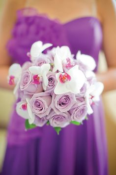 love the roses and orchids