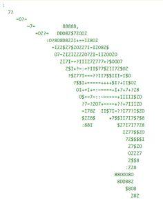 ASCII Artist - ASCII art by ldb