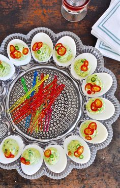 Deviled eggs are a c