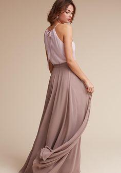 BHLDN (Bridesmaids) Hunter Top & Hampton Skirt Halter Bridesmaid Dress