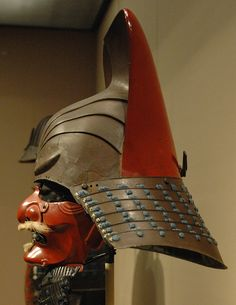 Samurai helmet - side by Marshall Astor - Food Fetishist, via Flickr