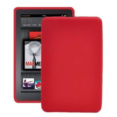 Soft Shell (Rød) Amazon Kindle Fire Cover