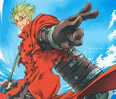 Trigun (1998) *Yu7yU* via Flickr http://www.justaplatform.com/top-10-anime/