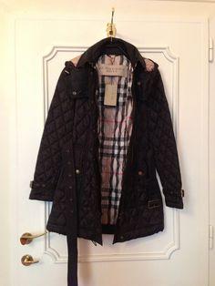BURBERRY Brit Heritage Quilted Coat