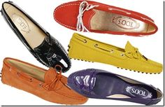 tods loafers - one in each, please
