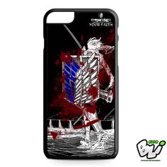 Attack On Titan iPhone 6 Plus Case   iPhone 6S Plus Case