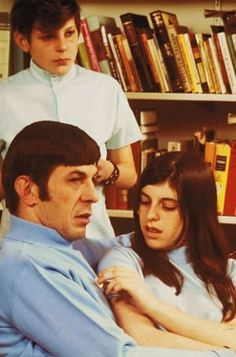 Adam Nimoy, director of the documentary For the Love of Spock and son of Leonard Nimoy, shares exclusive personal photos and a candid look at growing up with an untouchable icon and fallible father. Star Trek Meme, Star Trek Cast, Star Trek 1966, Star Wars, Lee Harris, Enterprise Ncc 1701, Star Trek Original Series, Leonard Nimoy, Spock