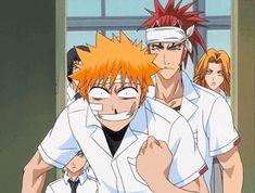 Ichigo being butch slapped haha