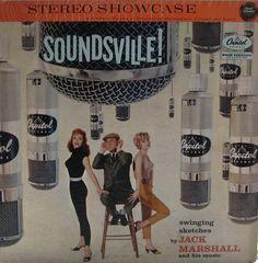 Soundsville! — Jack Marshall #vintage #vinyl #records