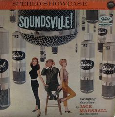 Soundsville! — Jack Marshall #vintage #vinyl #records