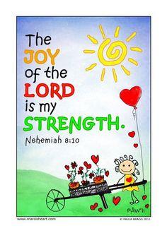 Nehemiah 8:10 - A powerful weapon