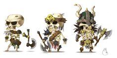 skeletons army by Sidxartxa.deviantart.com on @deviantART