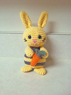 Martin the Bunny Rabbit, free download on Ravelry