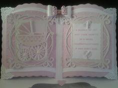 New baby girl bookatrix keepsake