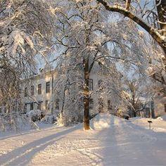 A very snowy Gävle, Sweden.