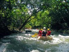 Tenorio River Rapids. Costa Rica has it all!