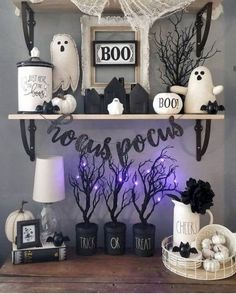 This Halloween spooke your guests with a scary and spooky Halloween decoration for your home. Try these Cheap DIY Dollar Store Halloween Decoration ideas Halloween Tags, Happy Halloween, Spooky Halloween Decorations, Dollar Store Halloween, Halloween Home Decor, Halloween Party Decor, Holidays Halloween, Halloween Crafts, Halloween Recipe