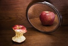 Anorexia - conceptual photography
