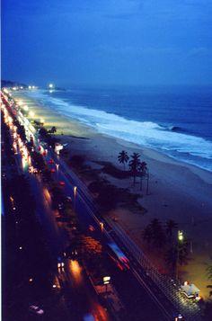 The beach at night. Beautiful World, Beautiful Places, Beautiful Scenery, Beautiful Landscapes, John Cheever, Beach At Night, City Of Angels, California Dreamin', California English