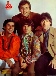 """Hullabaloo Magazine....The Rascals, 1967 ... The Rascals were a blue-eyed soul group who had a string of hits from 1965-1971. Their best known songs include """"Good Lovin'"""" (1966), """"Groovin'"""" (1967), and """"People Got to Be Free"""" (1968) which all topped the charts."""