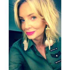Agnieszka Szulim w biżuterii MOKOBELLE #mokobelle #mokobellejewellery #jewellery #jewelry #bransoletka #lifestyle #bijou #stars
