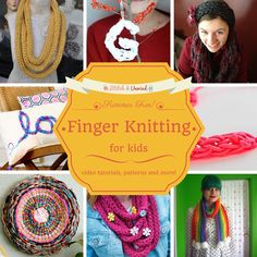 Kid Stitches: Finger Knitting Projects To Keep Them Busy This Summer