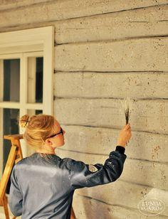 LUNDAG Por RD |  Para pintar una pared salpicando