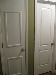 Hollow Core Door With Trim