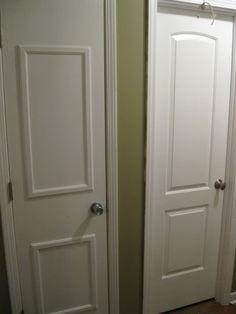 1000 Images About Door Makeovers On Pinterest Hollow Core Doors Interior Doors And Moldings