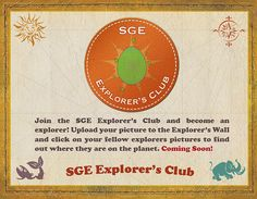 SGE Explorer's Club - Spartan and the Green Egg