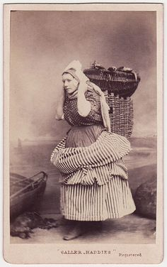 Newhaven fishwife   by The Library of Nineteenth-Century Photography