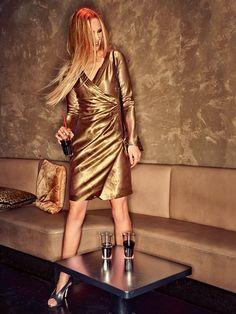 Long Sleeve Wrap Dress 08/2014