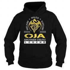 I Love OJA Legend - OJA Last Name, Surname T-Shirt T shirts