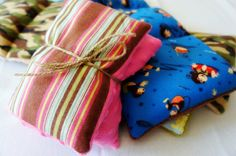 Always a Project: DIY Heating Pads #microwave #fabric #scraps