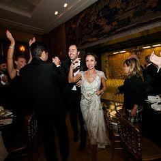 Bride and groom reception entrance Photography: I Do Photojournalism