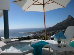 Aview - This superior, luxurious Camps Bay villa offers stunning sea views along with majestic evening sunsets.  Bordering the Table Mountain Nature Reserve, below the Twelve Apostles, you can enjoy the best of ... #weekendgetaways #campsbay #southafrica