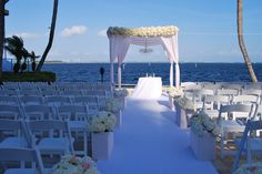 Grove Isle Wedding, Fleurish design