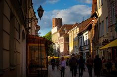 Much of Vilnius still retains its bleak Soviet-era sprawl, but it's a city in transition that is often heralded as one of the cheapest in Europe. Lithuania Travel, Baltic Region, Baltic Sea, Ny Times, Around The Worlds, Street View, City, Experience Life, York