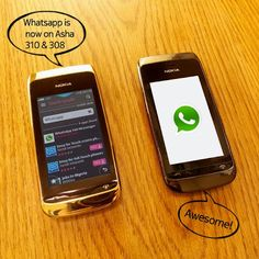 Techofy | Cool tips and tricks: whatsapp is now support Nokia Asha 310 and 308