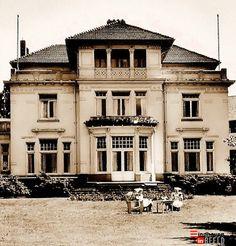 De villa hersteld in oude glorie. #Diaconessenhuis na de oorlog