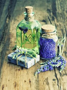 Check out Lavender Oil and Herbal Soap by LiliGraphie on Creative Market