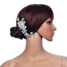 Topwedding accessoire Perle et faux diamants detaillee serre-tete de fleur: Amazon.fr: Hygiène et Soins du corps