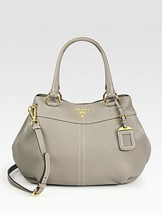 Prada Vitello Daino Satchel ~ Love this!