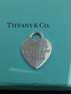Ciondolo Tiffany a cuore in argento