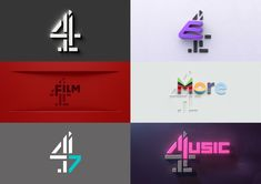 gets an entire makeover, while Channel digital channels – including and – will now incorporate the classic Lambie-Nairn Channel 4 logo as the network seeks to unify its brand Channel 4 Logo, Channel Branding, Best Logo Design, Graphic Design, Matt Berry, 20 Tv, Bbc Two, Digital Film, Creative Review