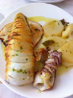 Grilled squid Andres Maricuchi
