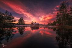 Flames of Fire - The one who thinks about himself that he is insane is most likely sane.  Prints: http://fineartamerica.com/profiles/olehenrik-skjelstad.html
