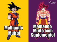Monstrão = Super sayajin  HAHAH